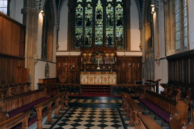 chancel view